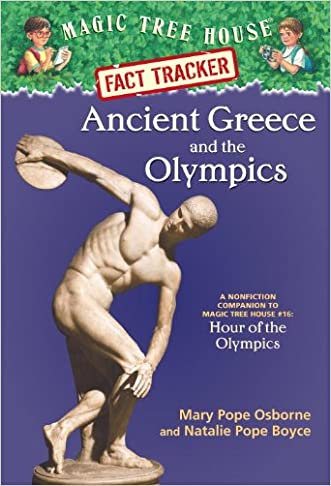 Magic Tree House Fact Tracker #10: Ancient Greece and the Olympics: A Nonfiction Companion to Magic Tree House #16: Hour of the Olympics (A Stepping Stone Book(TM))