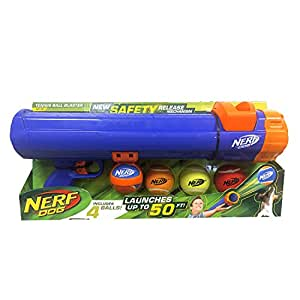 Pet Supplies : Nerf Dog Tennis Ball Blaster Gift Set : Amazon.com
