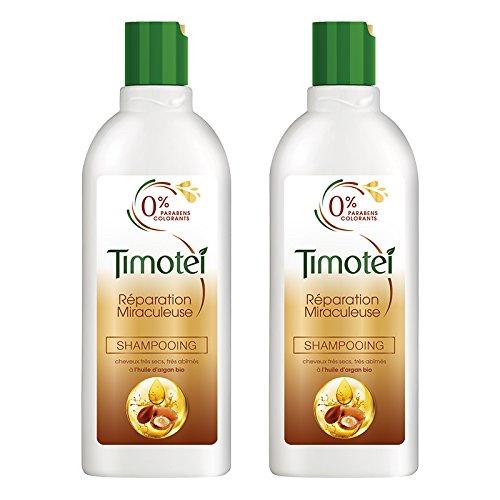 Timotei shampoo miracolosa riparazione 300ml - Lotto di 2