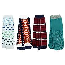 KF Baby Cozy Soft Leg Warmers [Set of 4 Pairs]