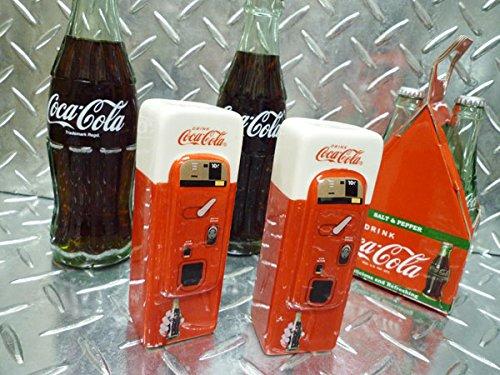 コカコーラ/COCA-COLA ビンテージ ドリンクマシーン型 S&Pセット(ソルト&ペッパー)調味料入れ Coca-Cola/COKE コカコーラグッズ ブランド アメリカン雑貨 キッチン雑貨