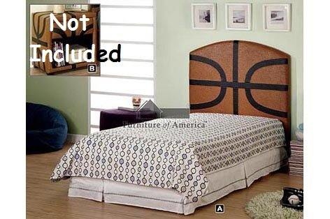 Cheap Kid Youth Basketball Twin Size Headboard (CM7103)