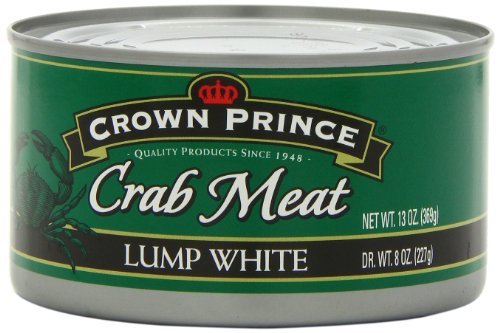 Crown Prince Lump White Crab Meat, 2 /13-ounce Cans