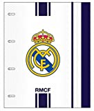 Real Madrid - Carpeta block A4 anillas + recambio (Safta 511654638)
