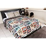 Maxi Mink Original Retro Signs Vintage Style Luxury Plush Reversible Comforter - Full Size