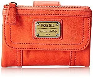 Fossil Emory Multi Function Wallet,Lipstick,One Size