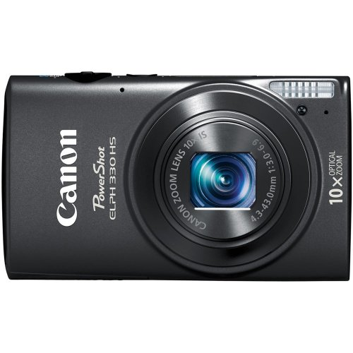 51KU9iWfvXL Canon PowerShot ELPH 330 HS 12.1 MP Wi Fi Enabled CMOS Digital Camera with 10x Optical Zoom 24mm Wide Angle Lens and 1080p Full HD Video (Black)