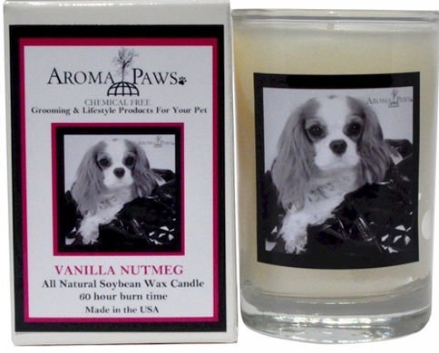 Aroma Paws 339 Breed Candle 5 Oz. Glass-Gift Box - Cavalier King Charles Spaniel