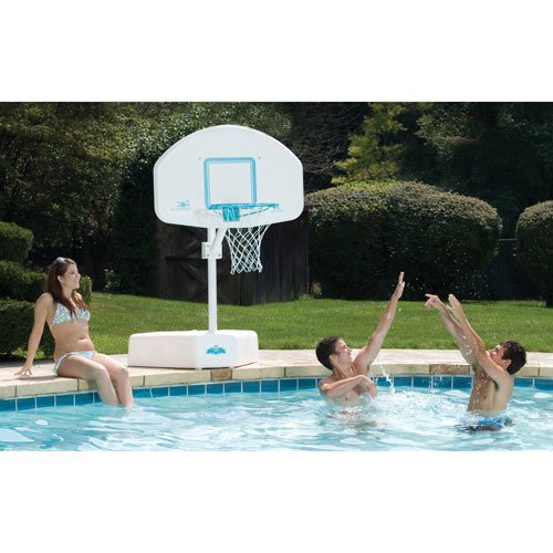 Dunnrite splash and shoot swimming pool basketball hoop - Basketball goal for swimming pool ...