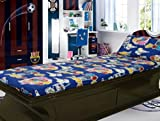 "Kids ""Hum Tum"" Radium Print Styled Single Bed Sheet"