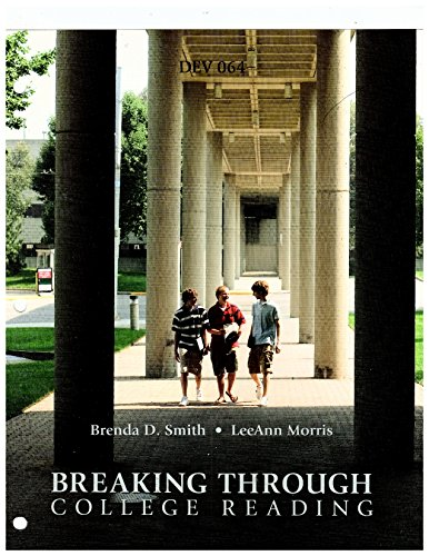 Breaking Through College Reading, DEV 064, Sinclair Community College