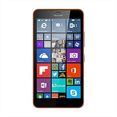 Microsoft Lumia 640 XL (Bright Orange, 8 GB)