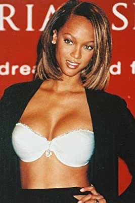 Tyra Banks Sexy Color Busty 24X36 Poster