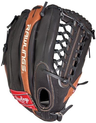 Rawlings 350 Series 12.75 Outfield Baseball Glove BLACK/TAN THROWS W/RIGHT HAND