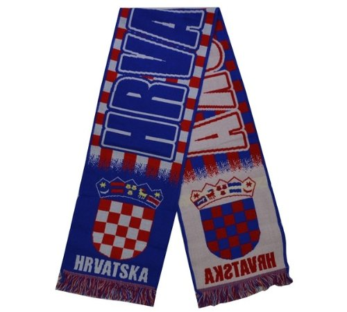 Fanschal Schal Fußball Kroatien Croatia Hrvatska