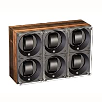 SwissKubiK 6 Automatic Wooden Watch Winder