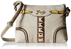 Gussaci Italy Women's Handbag (Off-White) (GC312)