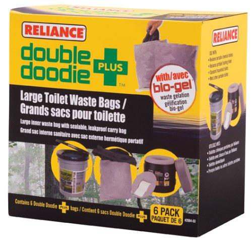 Reliance Double Doodie Plus 6 Pk 2684-03
