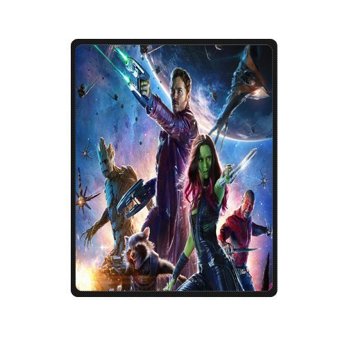 King&Queen Guardians Of The Galaxy Poster Film Hot Sale Fleece Throw Blanket Size 58inch x 80inch (Guardians Of The Galaxy For Sale)
