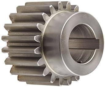 Boston Gear Spur Gear, Steel, Inch, 10 Pitch