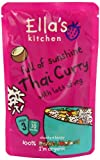 Ella's Kitchen Stage 3 From 10 Months Organic Thai Curry 190 g (Pack of 7)