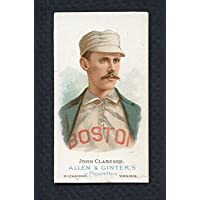 1887 N28 Allen & Ginter John Clarkson Red Sox VG-EX Scuff 283887 Kit Young Cards