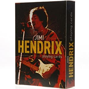 Jimi Hendrix Playing Cards