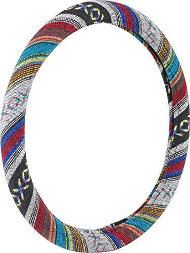 Bell Automotive 22-1-97114-9 Universal Baja Blanket Hyper-Flex Core Steering Wheel Cover (Steering Wheel Cover Bell compare prices)