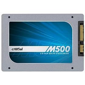 Crucial M500 内蔵型SSD 960GB 2.5インチ SATA6Gbps CT960M500SSD1