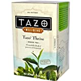 Tazo Teas, Well-Being, Tazo Thrive, Green Tea, 1.18 oz (33 g)
