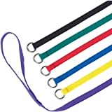Guardian Gear 4-Feet Nylon Dog Kennel Lead, 6-Pack, Multicolor