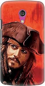 DailyObjects Captain Jack Sparrow Case For Motorola Moto G2