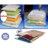 10 PACK Deal JUMBO / Large Space Saver Vacuum Seal Storage Bags Combo with Travel Bags and Carry On Pouch bags