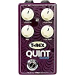 T-Rex Engineering QUINT-MACHINE Four-Tone Generator Pedal with Octave Up/Down and 5th Up by T-Rex Engineering