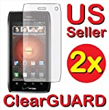 2x Motorola DROID 4 XT894 Premium Invisible Clear LCD Screen Protector Cover Guard Shield Protective Film Kits (2 pieces) Reviews