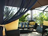 50% OFF!! Clearance SALE!! Beautiful Indoor/Outdoor Patio Drapes..Only $59.00 includes (2 panels) Would also make a Beautiful Gift... Hurry while supplies last!...Each Panel is 48