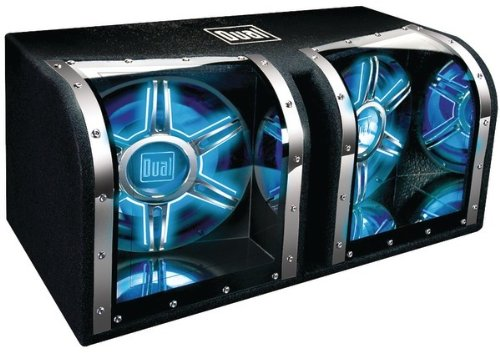 """Dual - Dual 12"""" Bandpass Subwoofer With Box"""