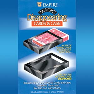 Empire Magic Disappearing Cards and Case