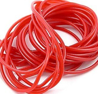 Kenny's Strawberry Red Licorice Laces 2 Lbs Sealed