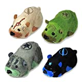 Kung Zhu Pet Battle Hamster Toy Set of 4 Special Forces RockO, Sgt. Serge, Stone Wall Rivet