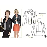 Style Arc Sewing Pattern - Ziggi Jacket (Sizes 04-16) - Click for Other Sizes Available (Tamaño: Sizes 04-16)