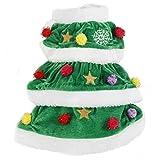 Fanala (US stock, Christmas Tree Pet Dog Cat Coat Halloween Puppy Clothes Costumes Apparel