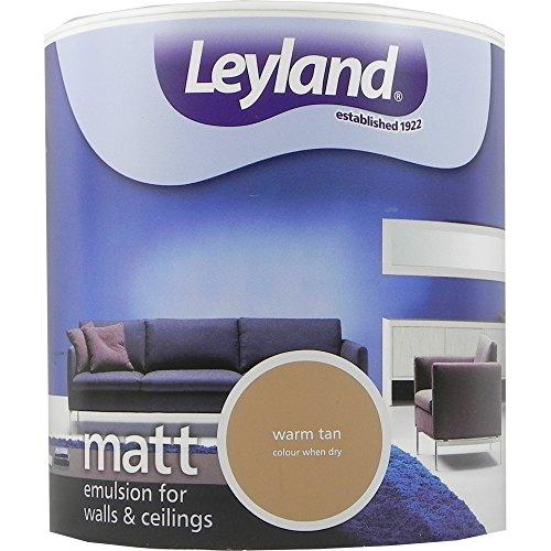 leyland-trade-paint-peinture-vinyle-mat-emulsion-interieur-a-base-deau-chaud-brun-clair-25-l