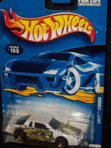 #2001-153 Chevy Stocker Collectible Collector Car Mattel Hot Wheels 1:64 Scale