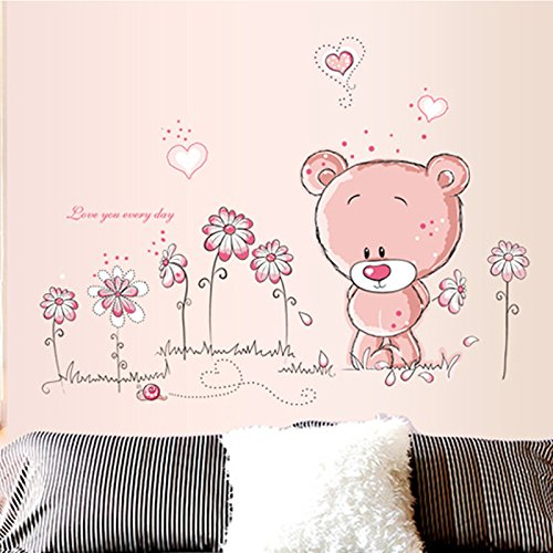wandtattoo wandsticker aufkleber tiere kinder baby. Black Bedroom Furniture Sets. Home Design Ideas
