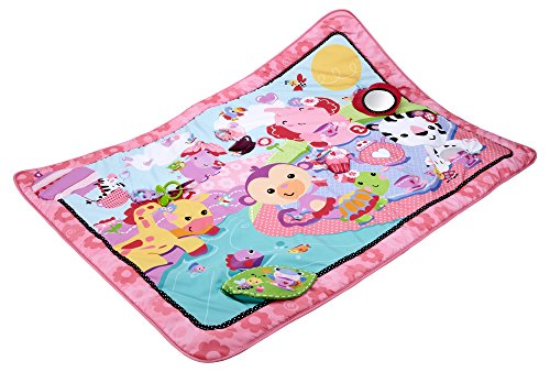 Fisher-Price Jumbo Play Mat, Pink - 1