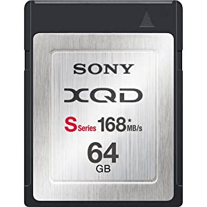 Sony 64GB XQD S-Series Memory Card (QD-S64/T)