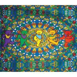 Amazon Com Grateful Dead Fleece Blankets Throw Blankets