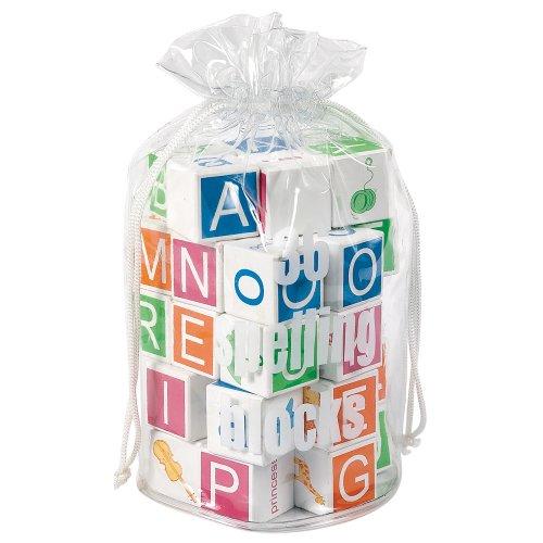 Wooden Alphabet Baby Blocks