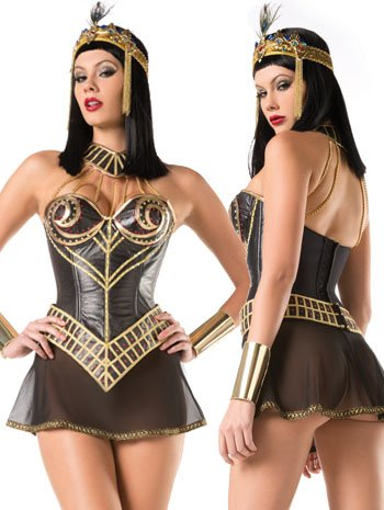 Nile Princess Sexy Deluxe Egyptian Costume - LARGE/XLARGE